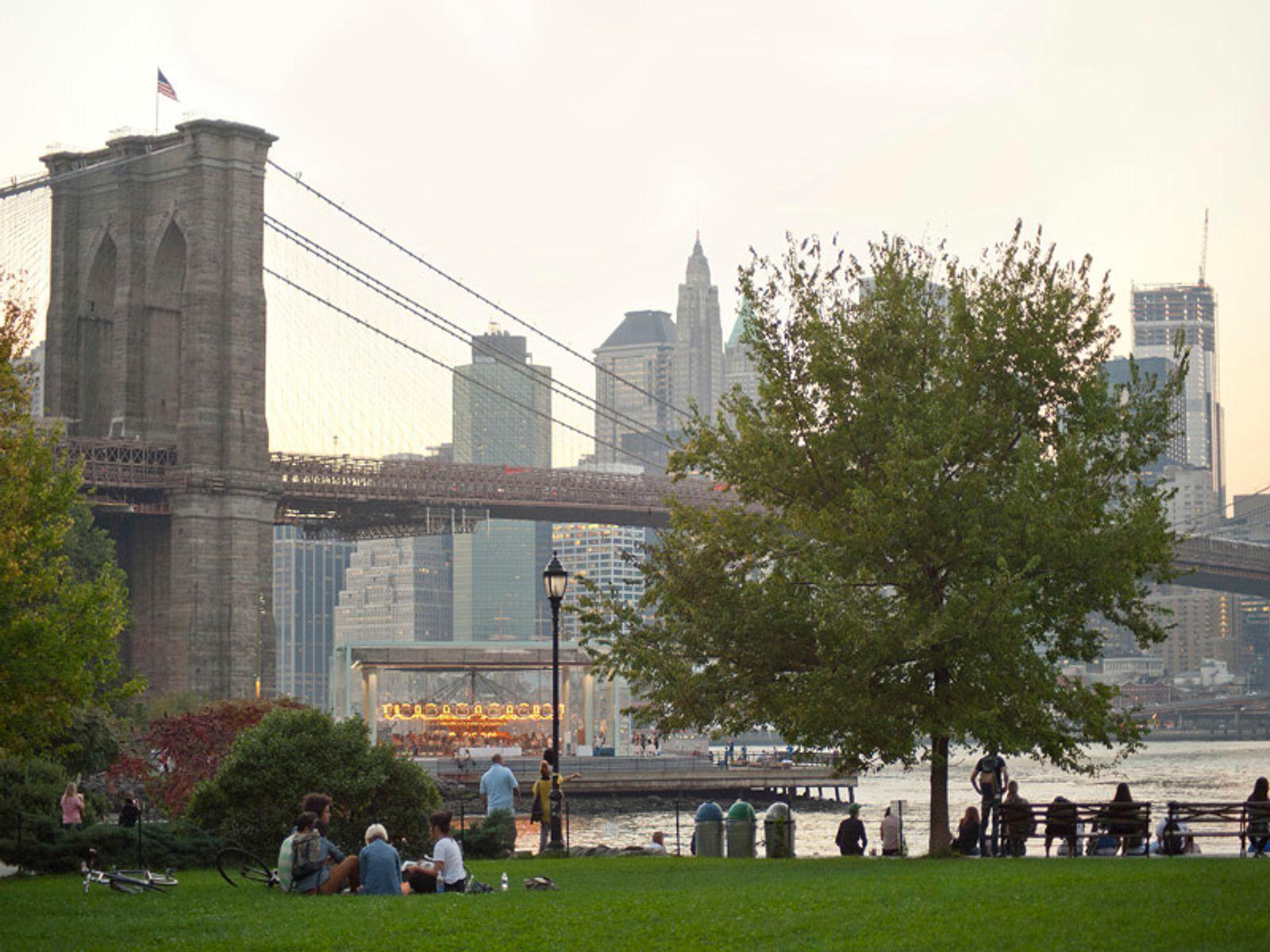 Sunsets and Brooklyn Bridge Views