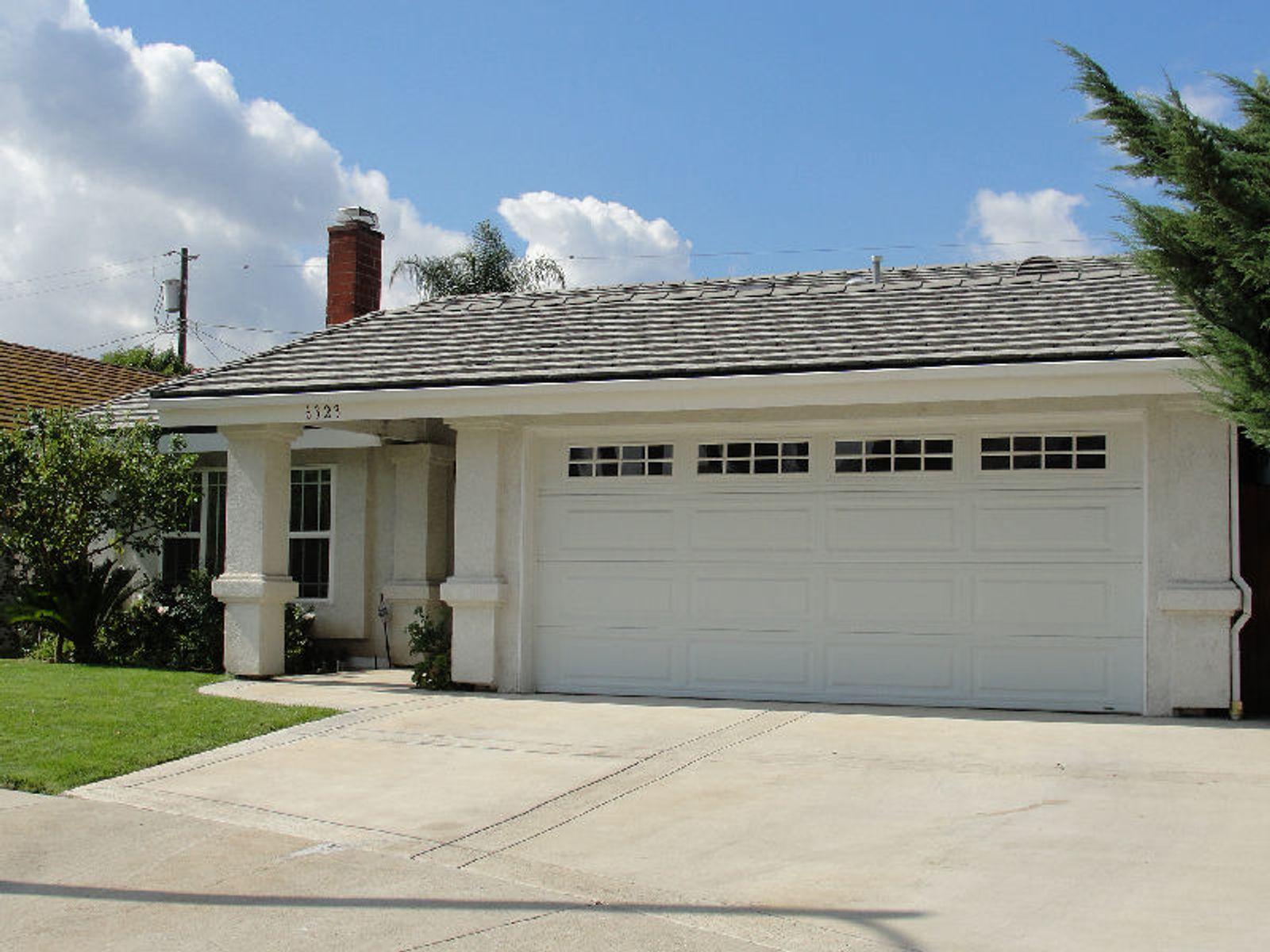 Two-car garage