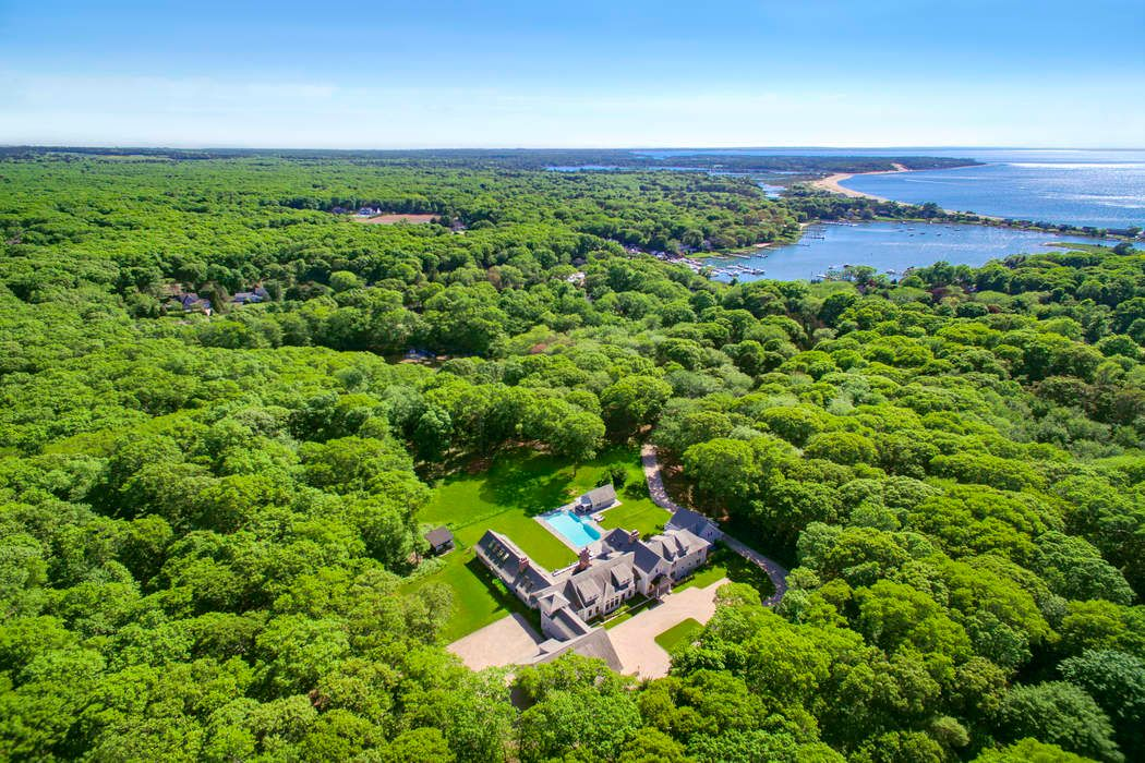 Lohan Estate on 17+ Acres In Southampton