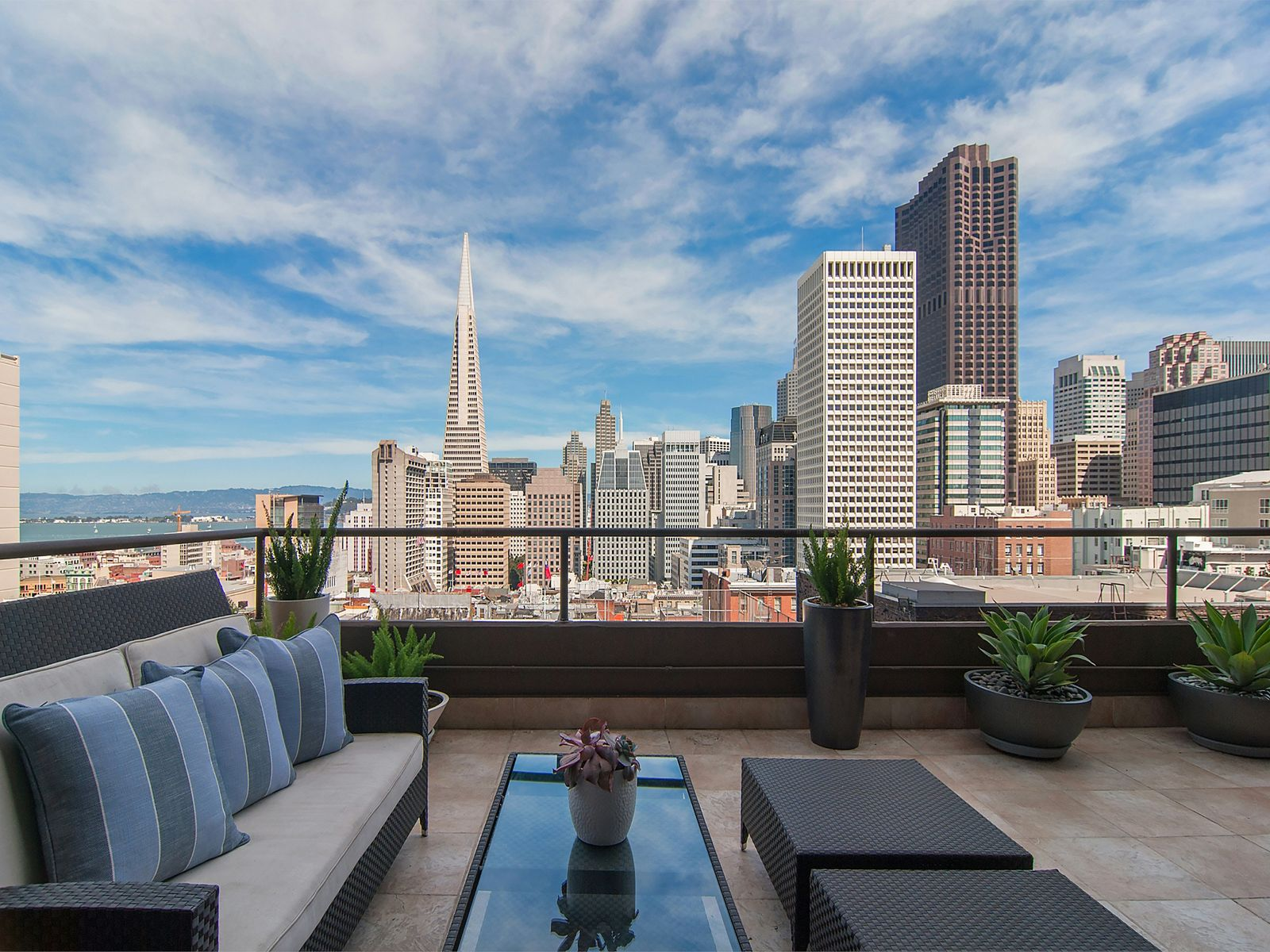 Panoramic Views, Private Terrace, San Francisco CA Condominium - San Francisco Real Estate