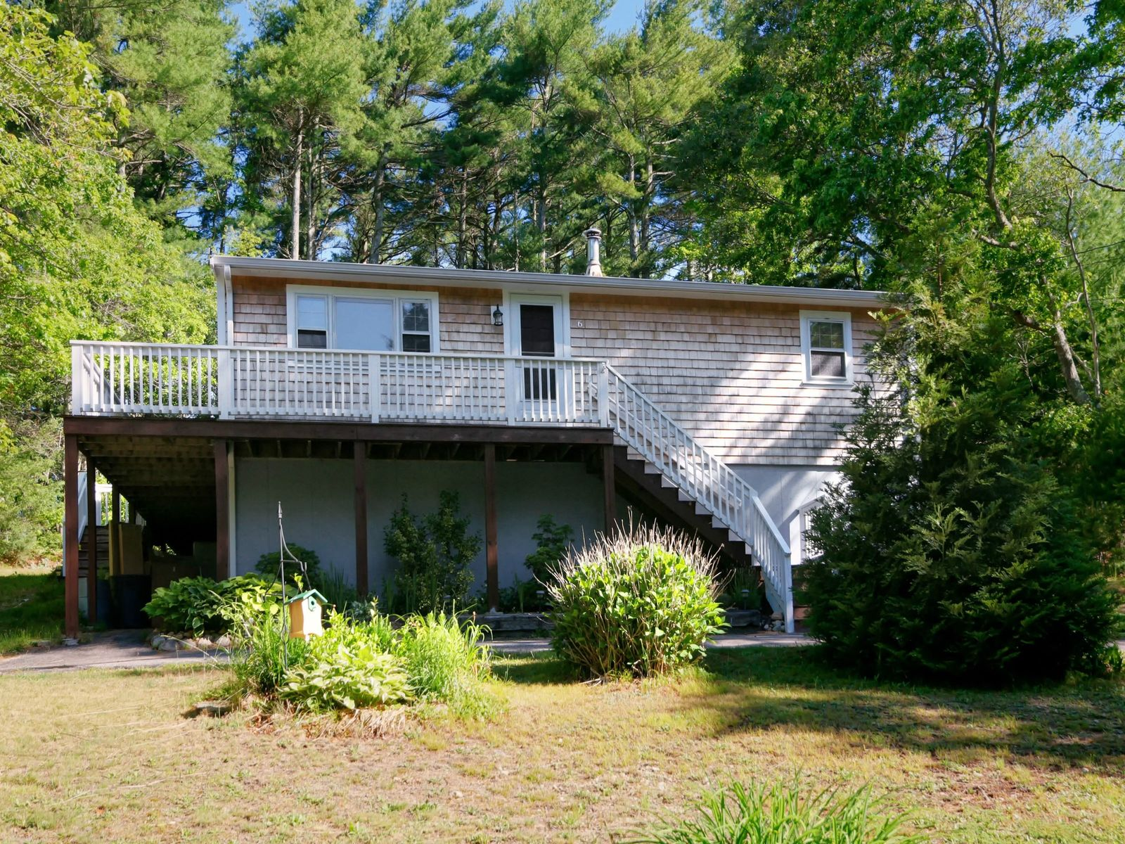 Easy Living Ranch in the Woods, East Falmouth MA Single Family Home - Cape Cod Real Estate