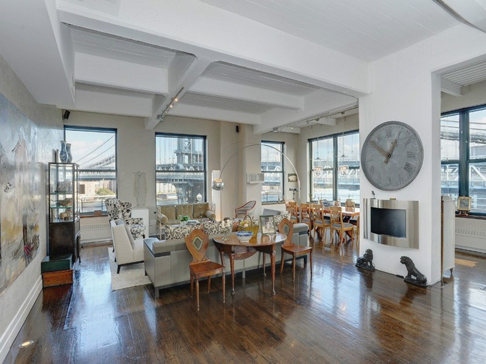 Stunning Corner Loft with Bridge View, Brooklyn NY Condominium - New York City Real Estate