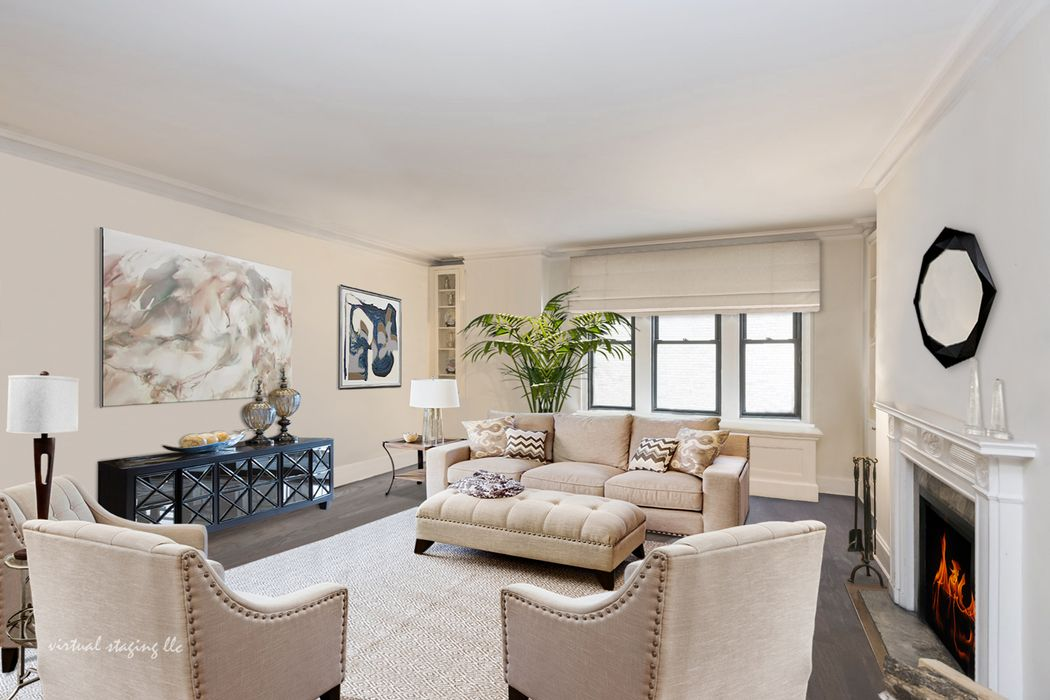 108 east 86th street - Living Room 86th Street