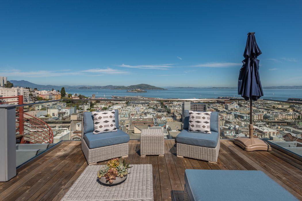 Stunning Landmark Views In Russian Hill San Francisco, CA 94133