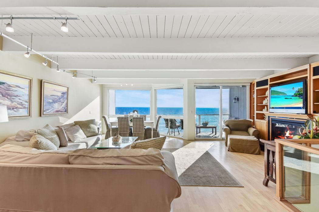 Oceanfront home at the Malibu Bay Club