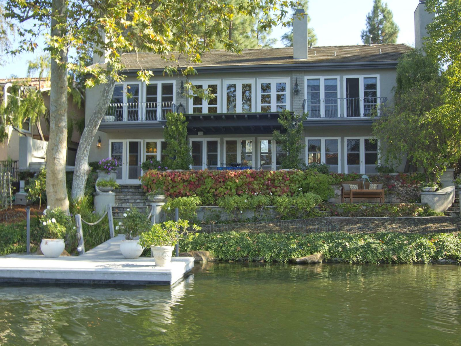 Exquisite Custom Lakefront, Westlake Village CA Single Family Home - Los Angeles Real Estate