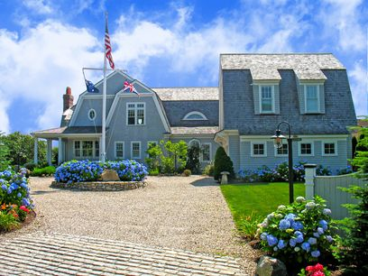 Ocean View Retreat with Private Beach, West Hyannisport MA Single Family Home - Cape Cod Real Estate