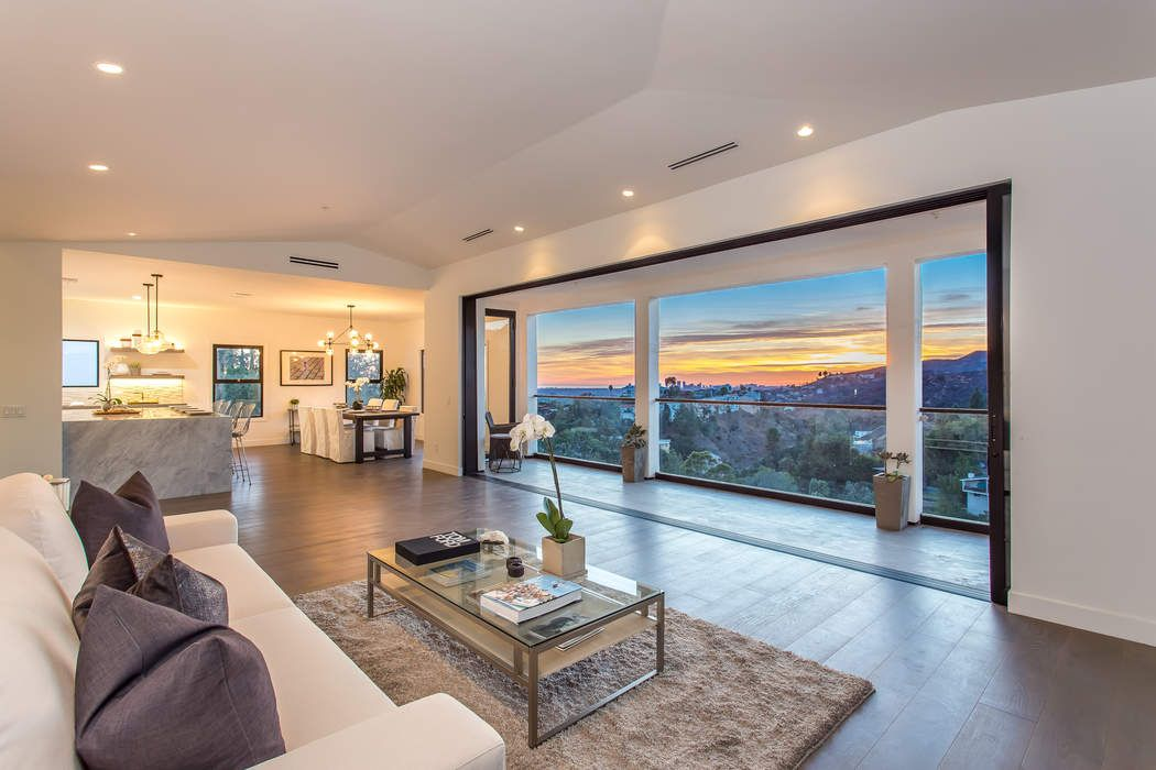Re-Imagined Hollywood Hills View Home