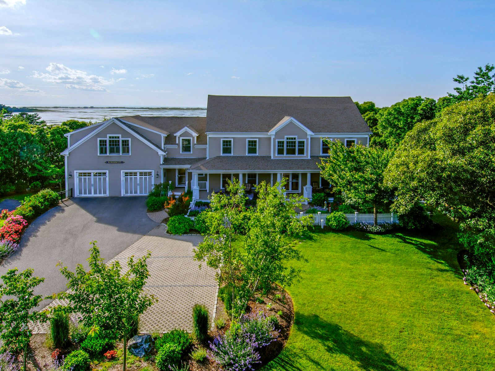Sweeping Salt Marsh and Bay Views, Yarmouth Port MA Single Family Home - Cape Cod Real Estate