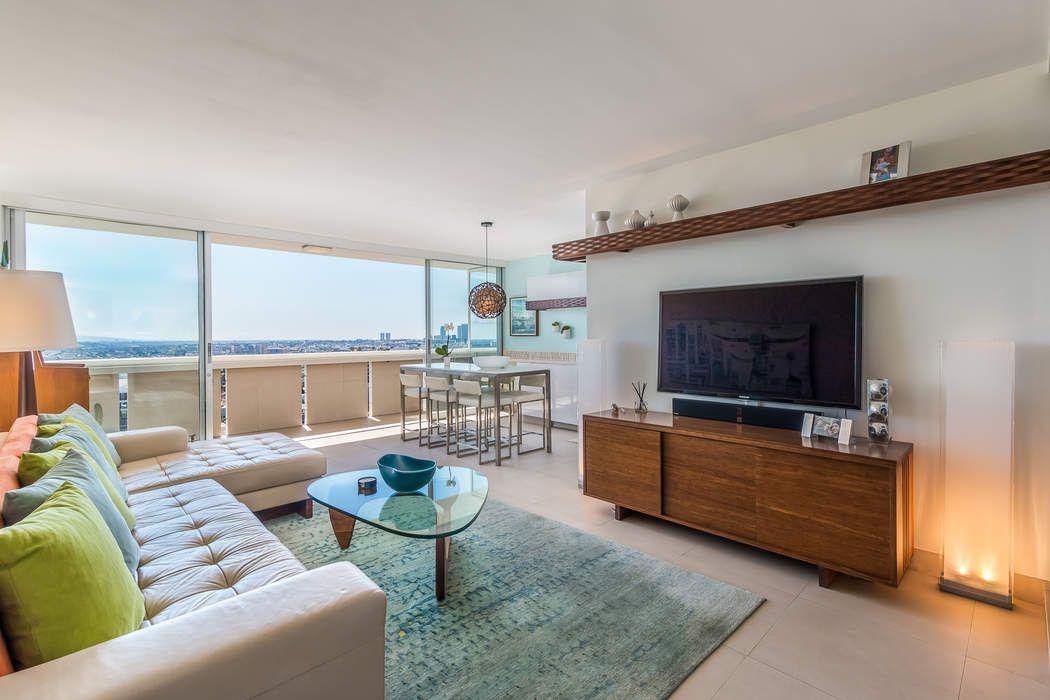 Shoreham Towers Panoramic View Condo West Hollywood Ca