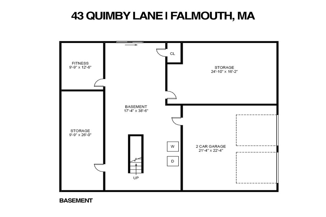 43 Quimby Lane East Falmouth, MA 02536