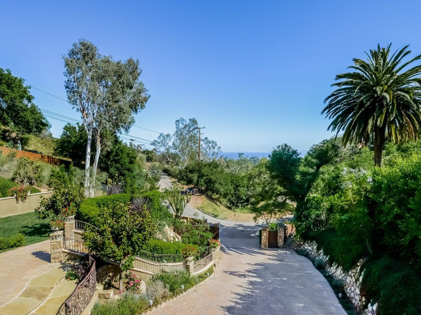 Montecito Ocean View Mediterranean-style