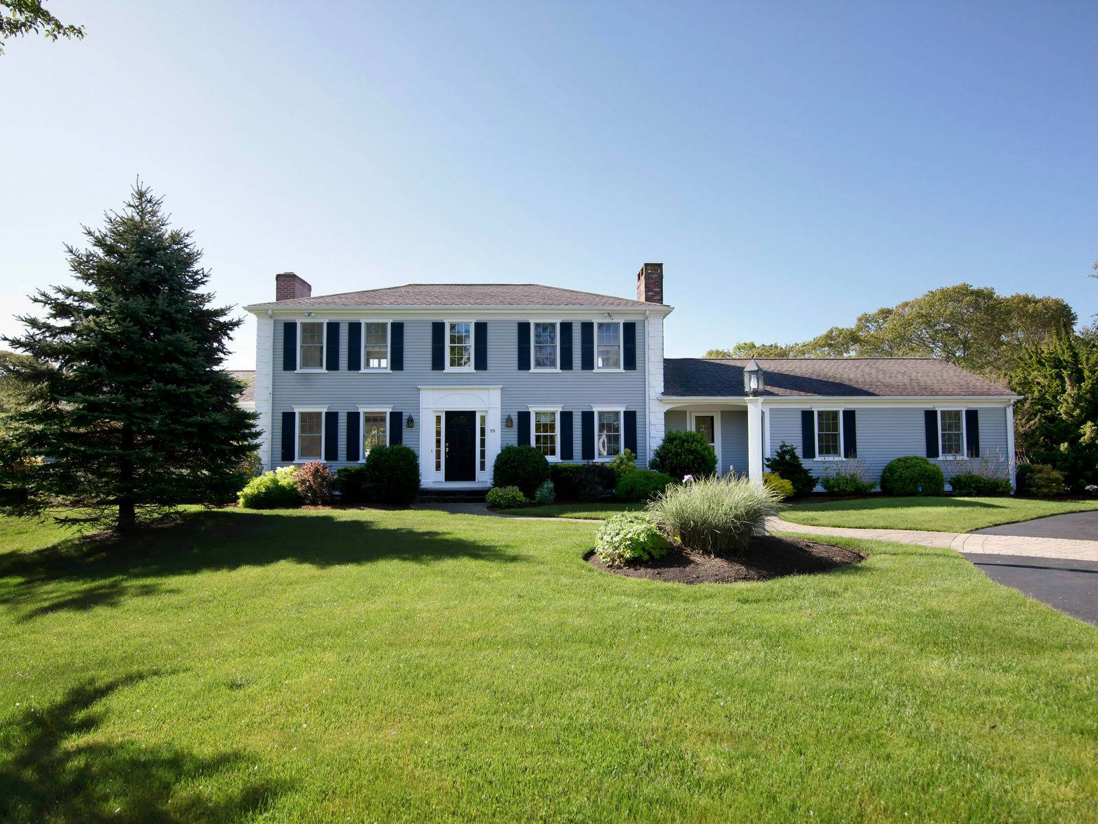 Captivating Colonial with Views, West Hyannisport MA Single Family Home - Cape Cod Real Estate