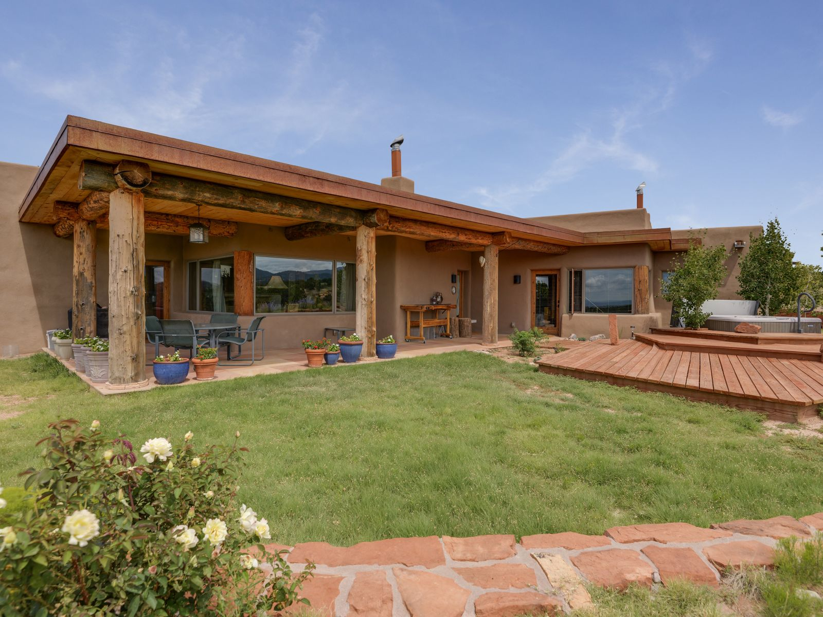 54 Vereda Serena, Santa Fe NM Single Family Home - Santa Fe Real Estate