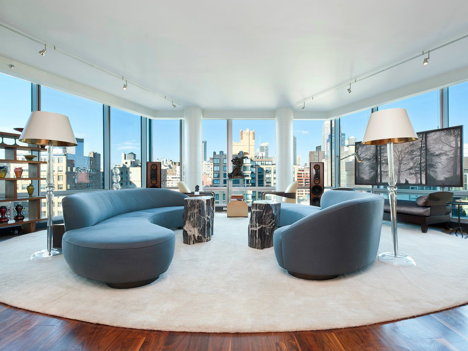 Downtown Trophy Penthouse, New York NY Condominium - New York City Real Estate
