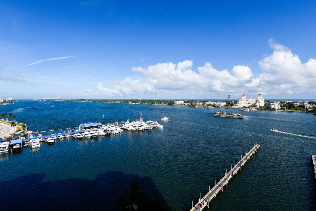 Sweeping Intracoastal and Ocean Views