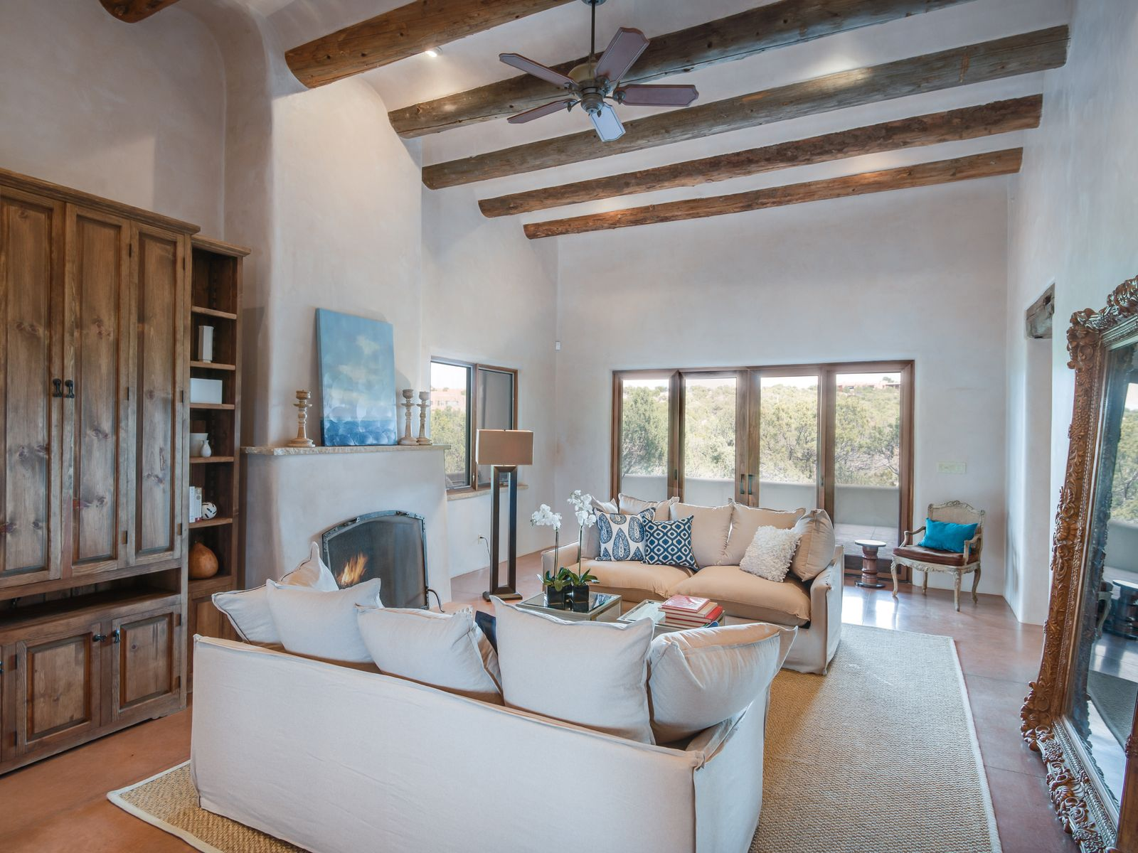 3 Calle San Acacia, Santa Fe NM Single Family Home - Santa Fe Real Estate
