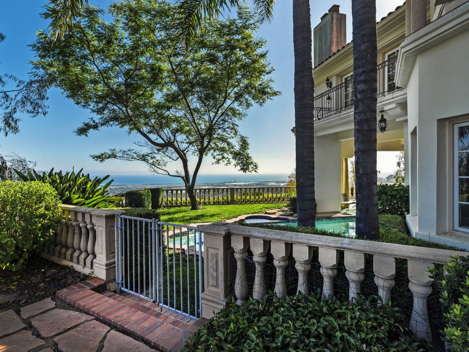 Ocean View Estate on Approx. 23 Acres, Carpinteria CA Single Family Home - Santa Barbara Real Estate