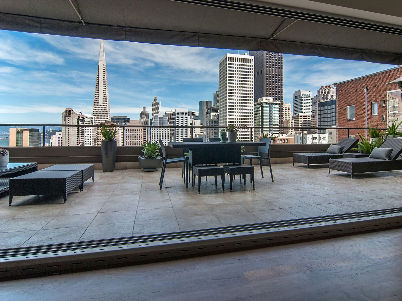Panoramic Views, Private Terrace