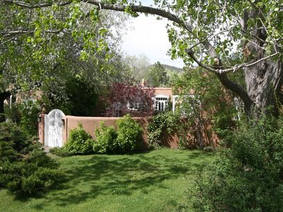 Secreted off legendary Upper Canyon Road, Santa Fe NM Single Family Home - Santa Fe Real Estate