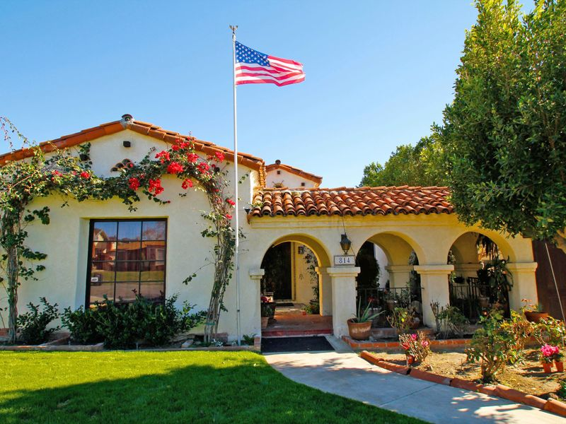 Gorgeous Spanish Colonial-style
