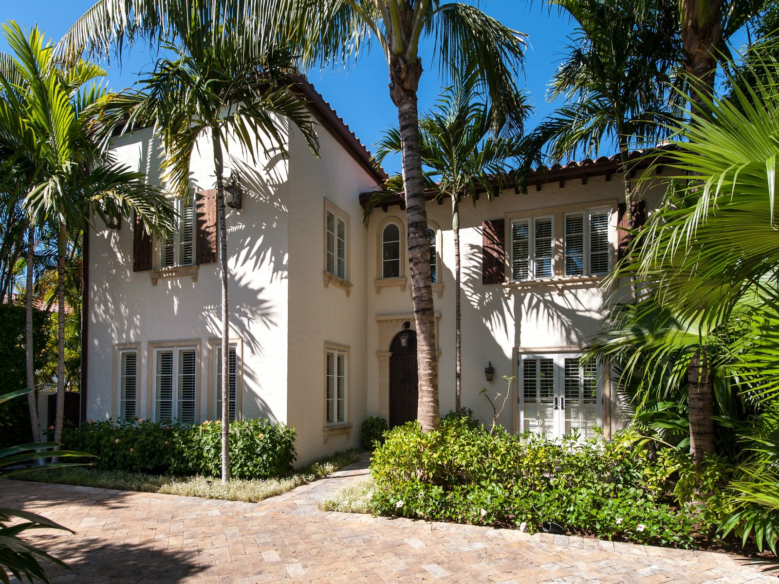 Enchanting Mediterranean Rental, Palm Beach FL Single Family Home - Palm Beach Real Estate