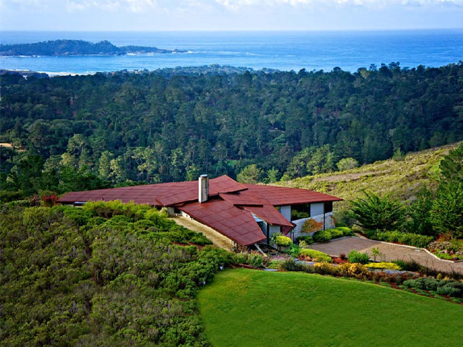 Carmel Estate Overlooking Point Lobos