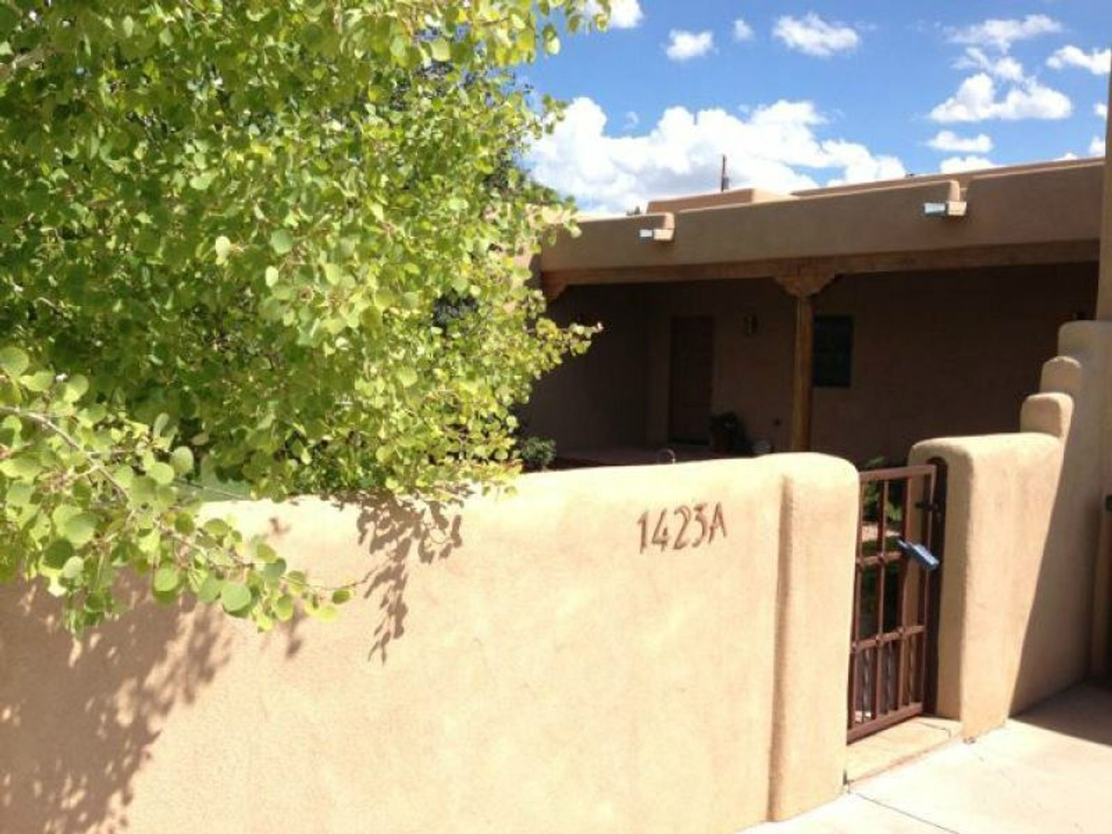 1423-A Galisteo Street, Santa Fe NM Single Family Home - Santa Fe Real Estate