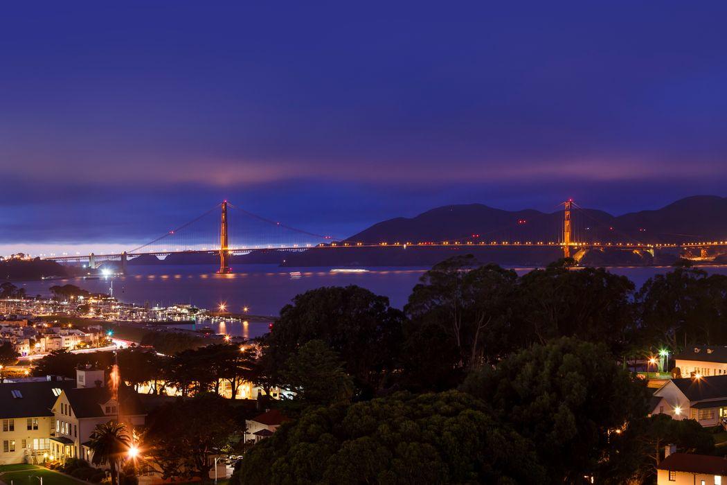 Panoramic Golden Gate and Alcatraz Views San Francisco, CA 94109