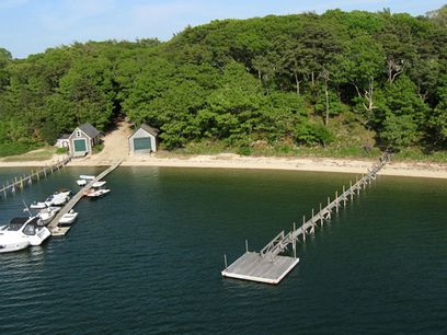 Magnificent Waterfront Location, Bourne MA Acreage / Lots - Cape Cod Real Estate