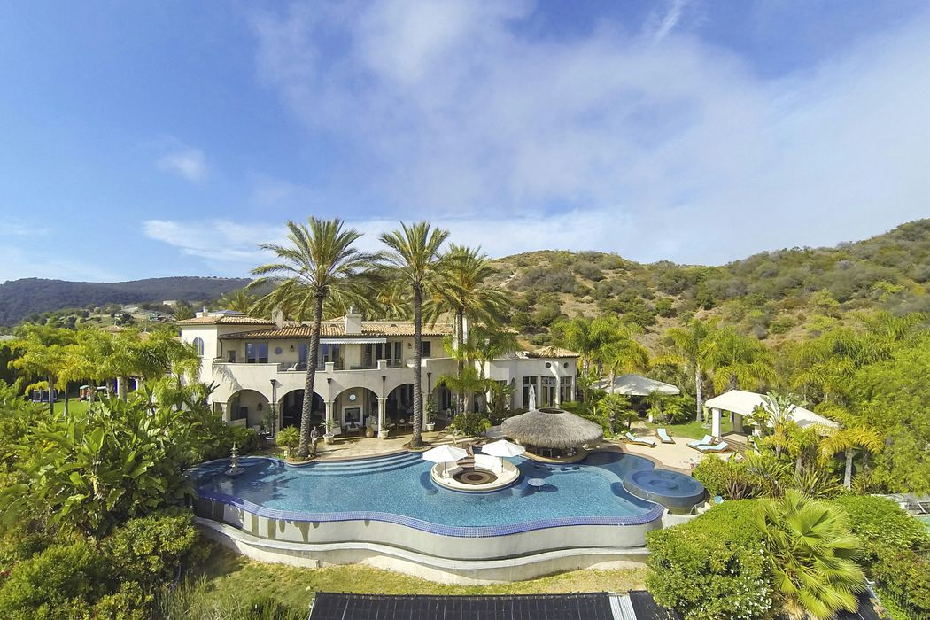 Ocean View Estate in Pacific Palisades