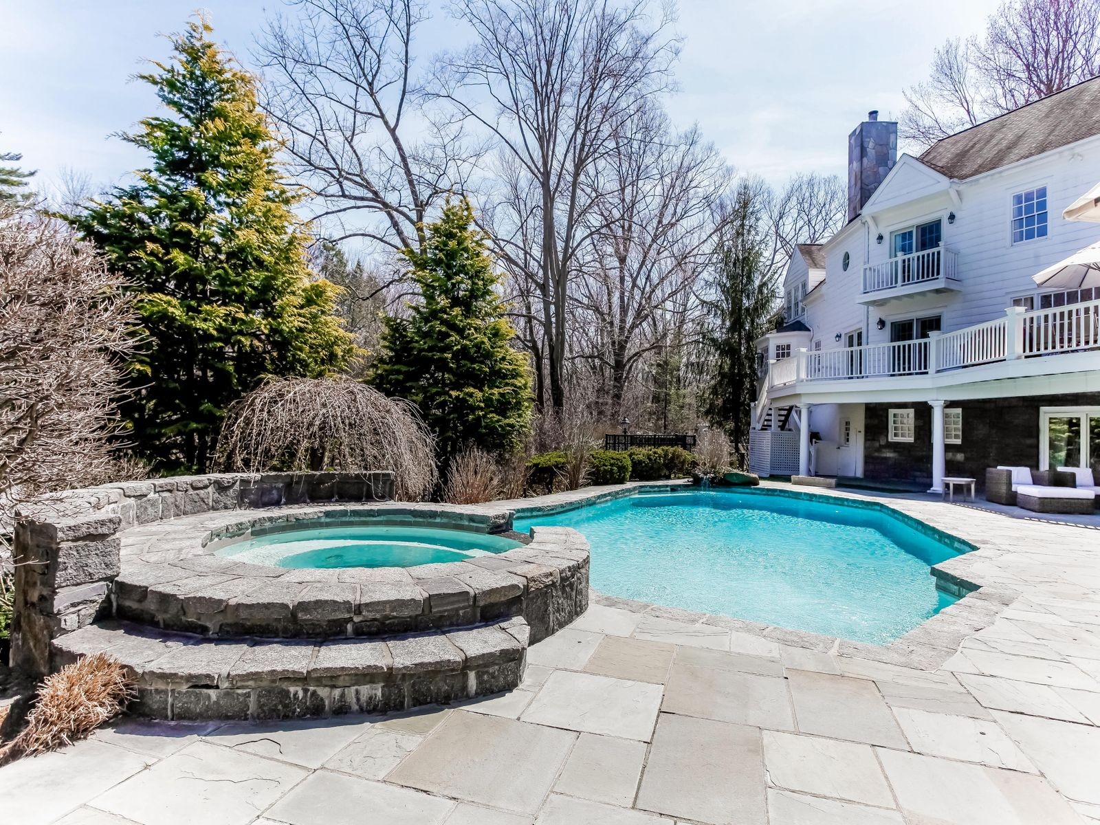 Mid-Country Colonial with Pool