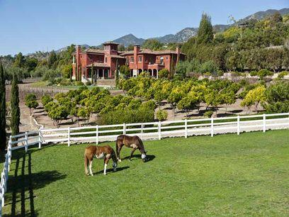 Santa barbara vineyard equestrian estate carpinteria ca for Real estate in carpinteria ca