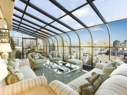 Prewar Condo Penthouse Extraordinaire, New York NY Condominium - New York City Real Estate