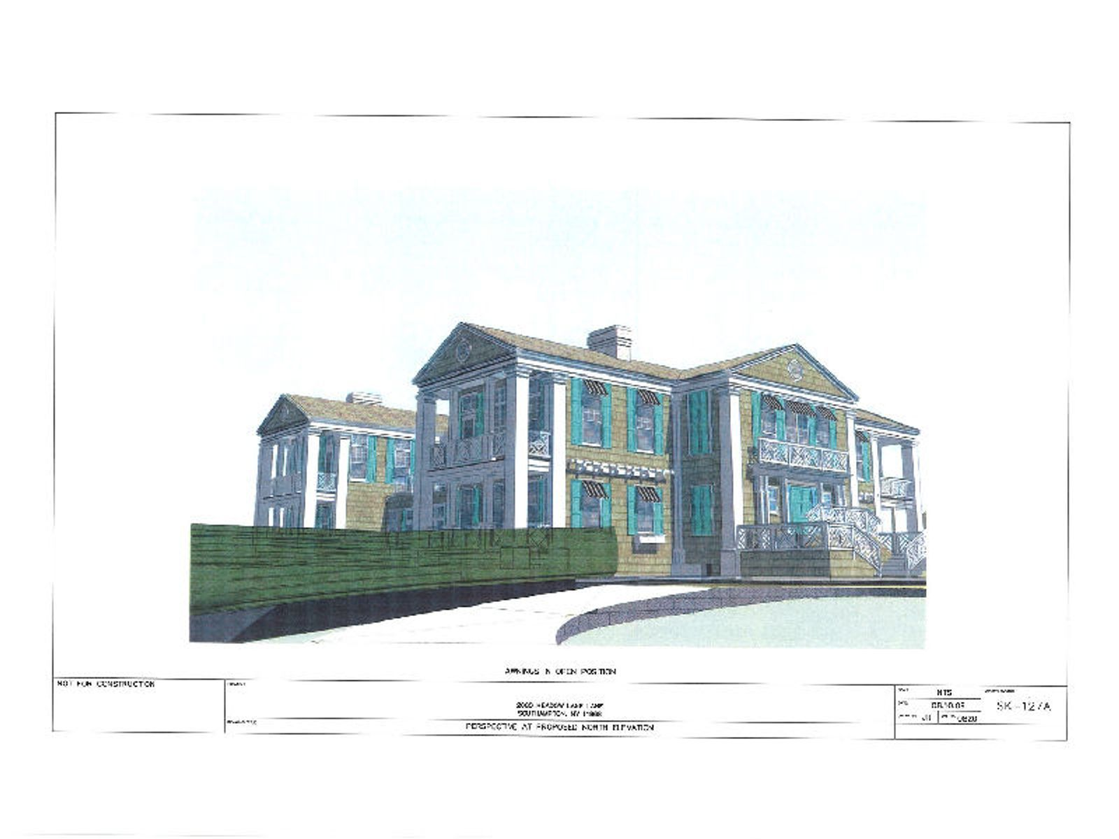 Exquisite Plans For Oceanfront Home
