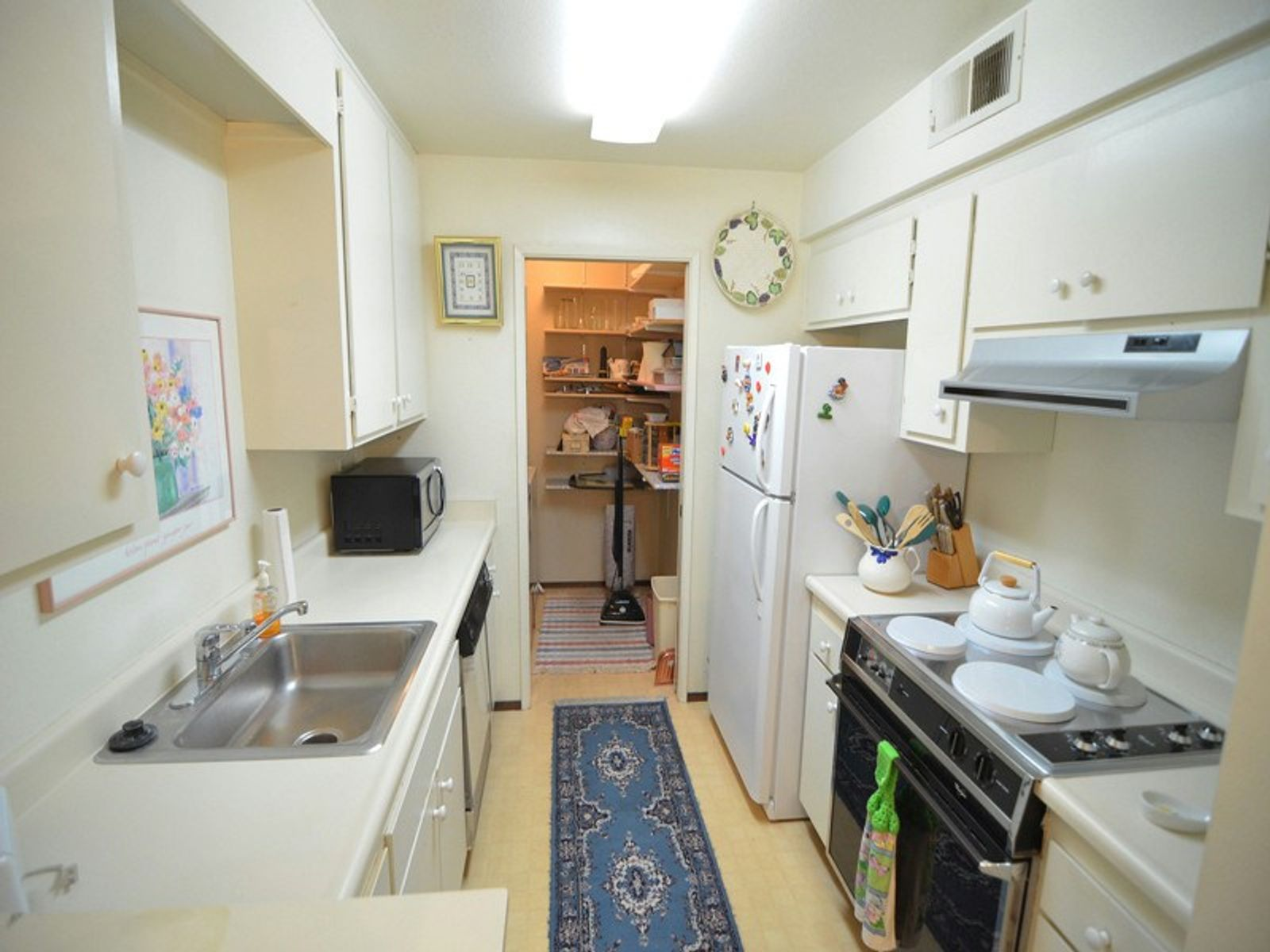 Downstairs-End Unit Condo