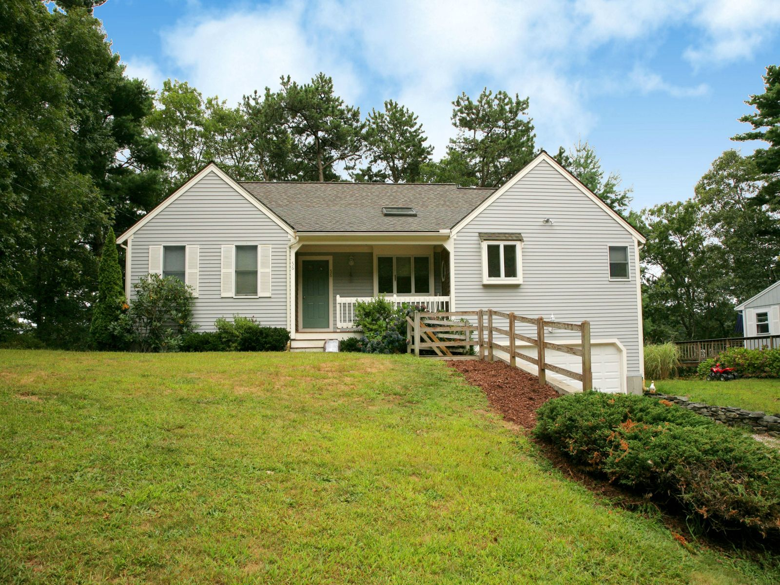 Jenkins Pond Waterfront, East Falmouth MA Single Family Home - Cape Cod Real Estate