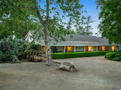 Historic Adobe Home in Wine Country, Los Alamos CA Ranch / Farm - Santa Ynez Real Estate