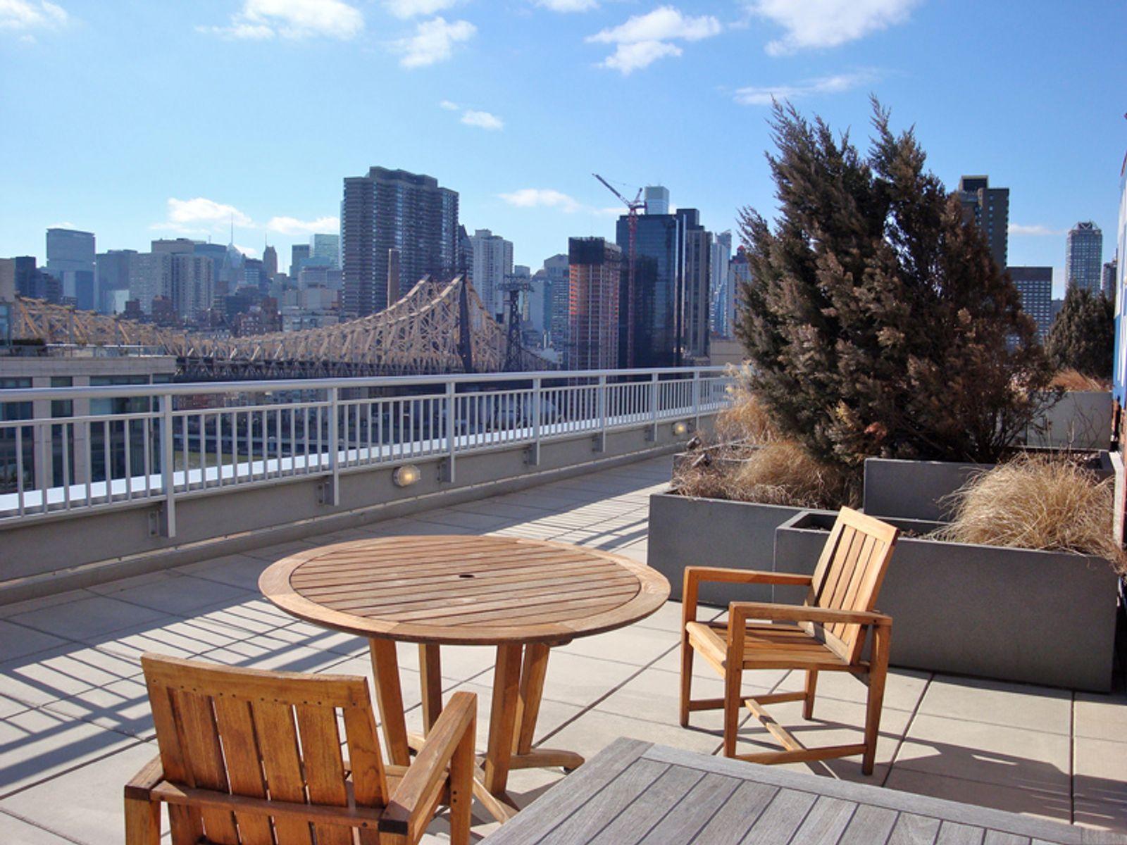 Sun Splashed Corner with Bridge Views