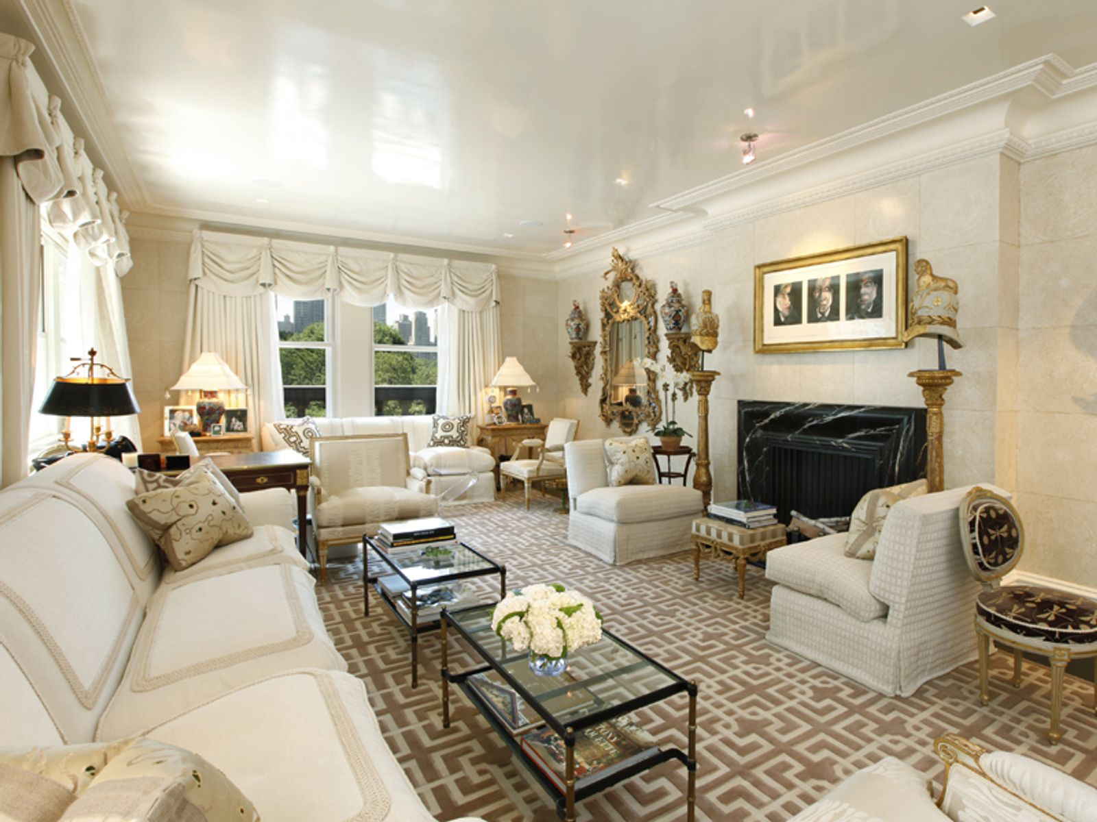Sherry Netherland Glamour , New York NY Cooperative - New York City Real Estate