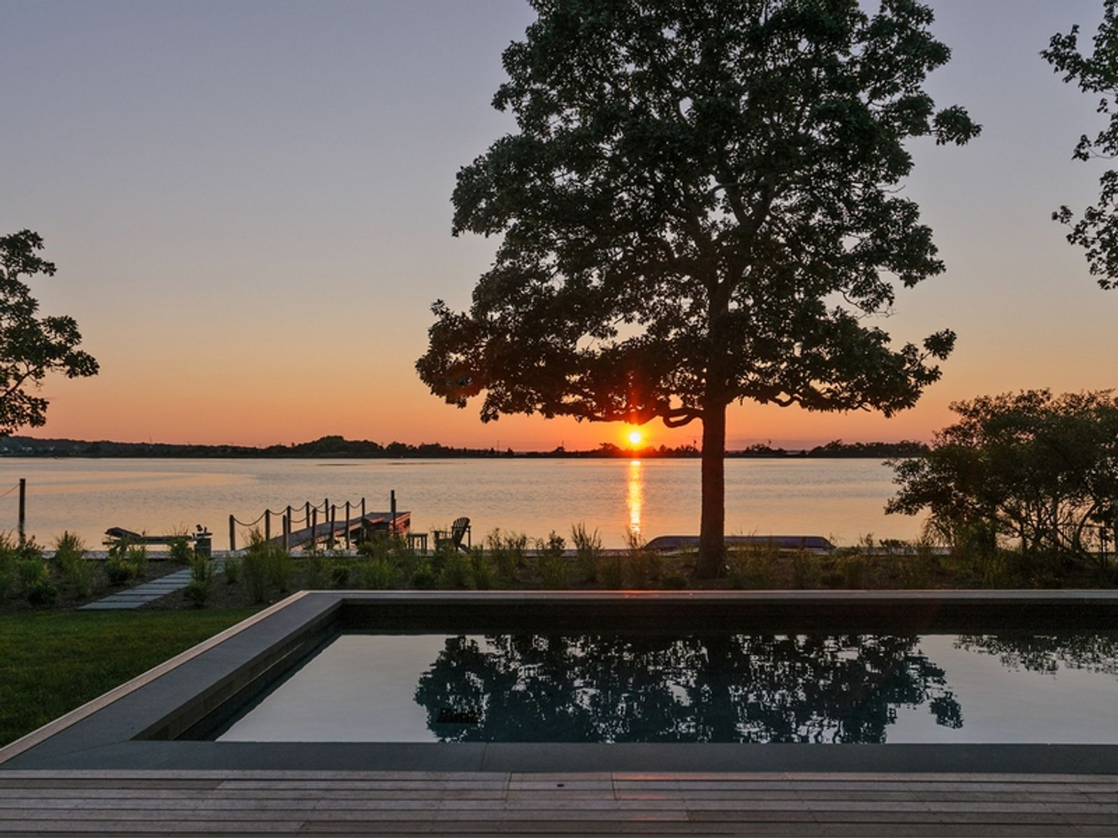 Perfect Sunsets on Sag Harbor Cove
