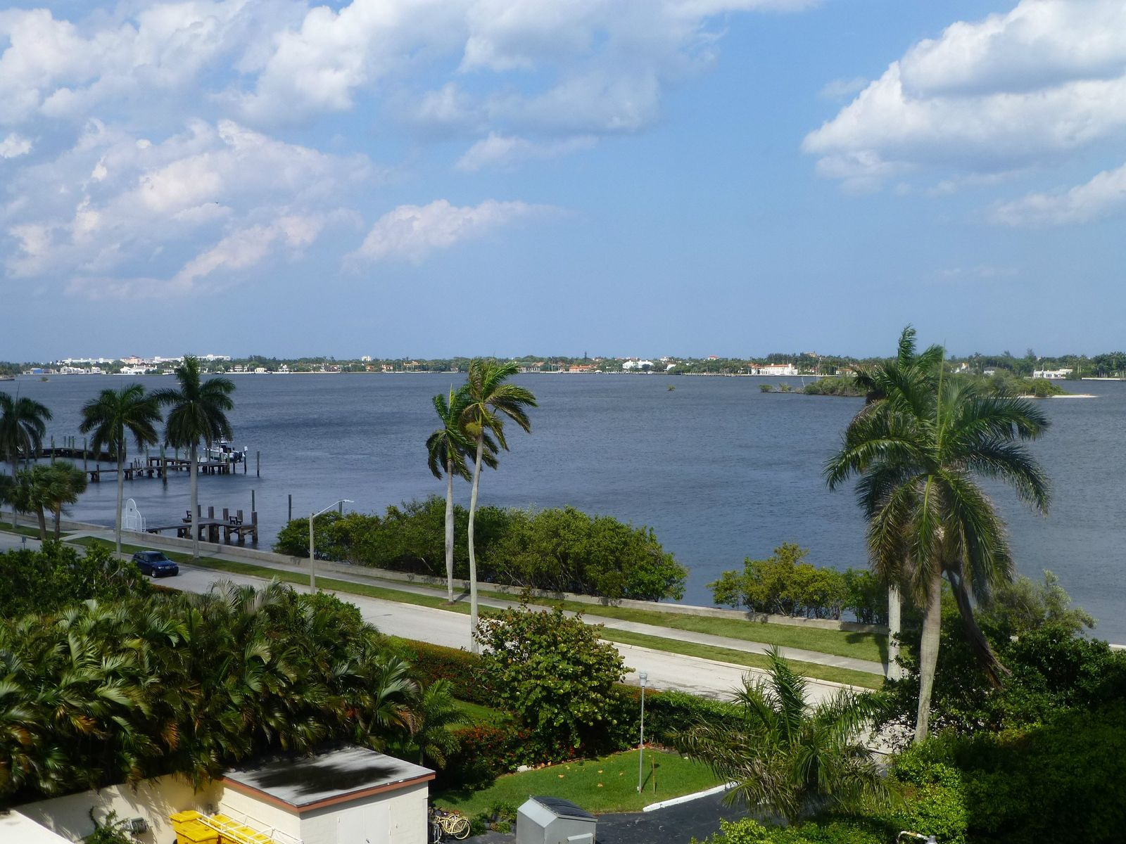 Sweeping Water Views Of Palm Beach