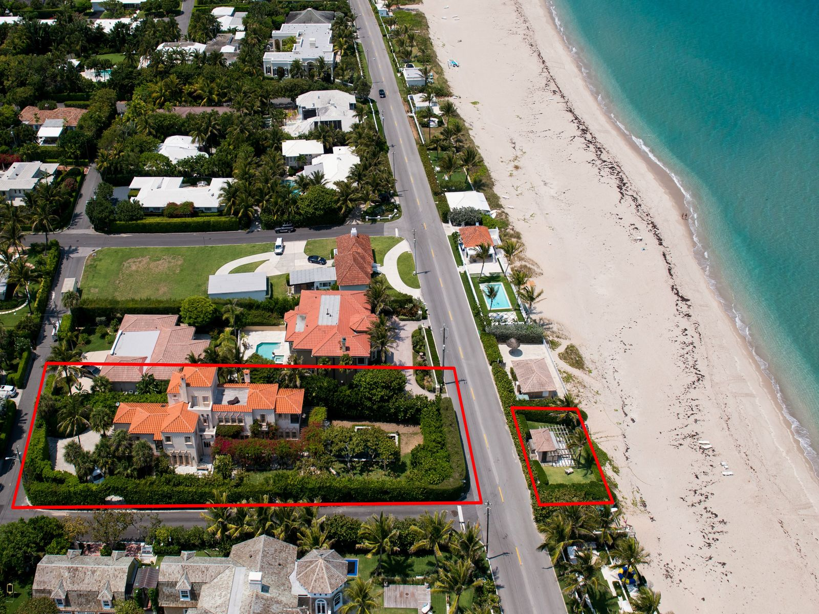 Enchanting Oceanfront Estate   , Palm Beach FL Single Family Home - Palm Beach Real Estate