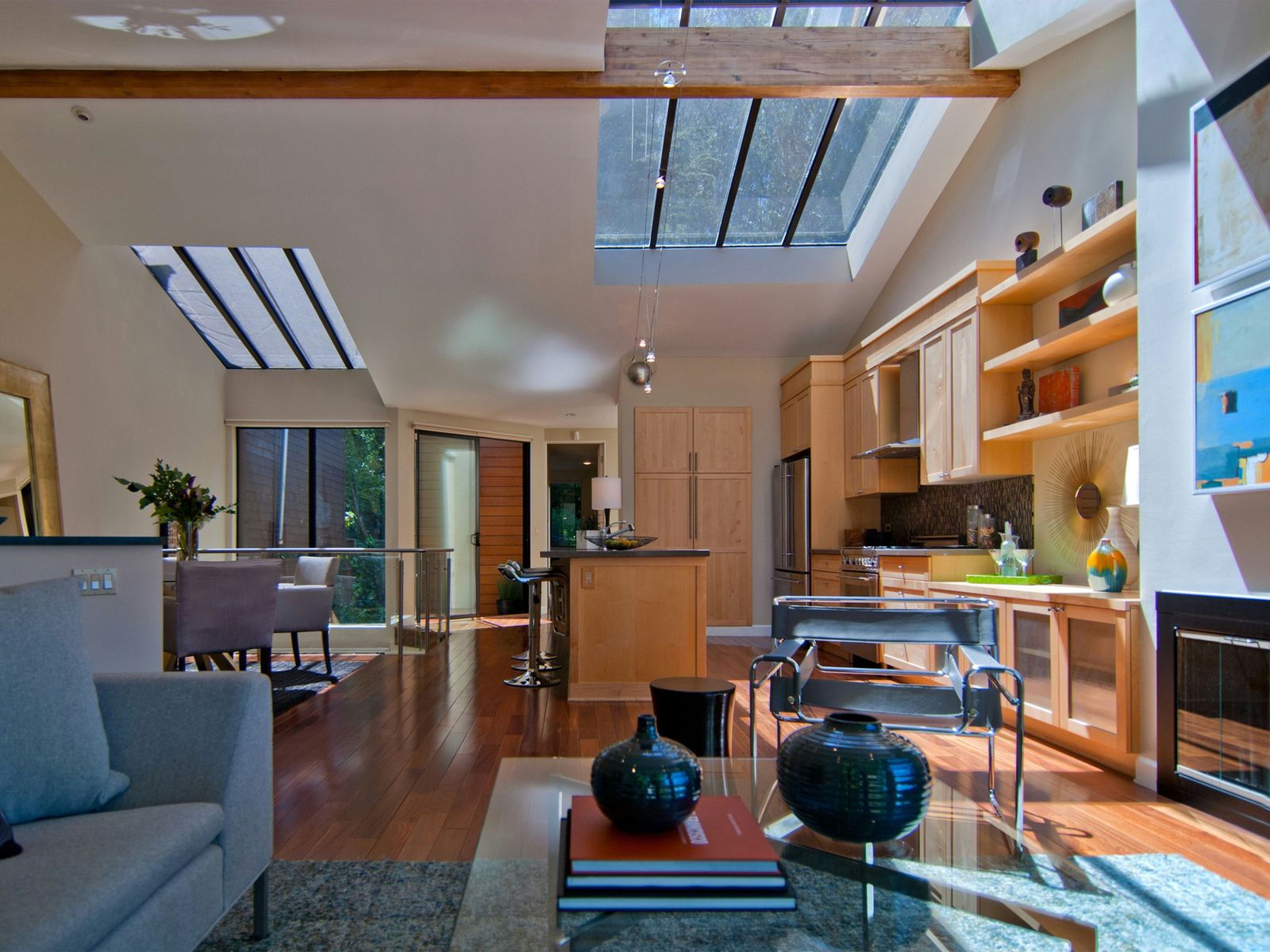 Contemporary Urban Oasis, San Francisco CA Single Family Home - San Francisco Real Estate