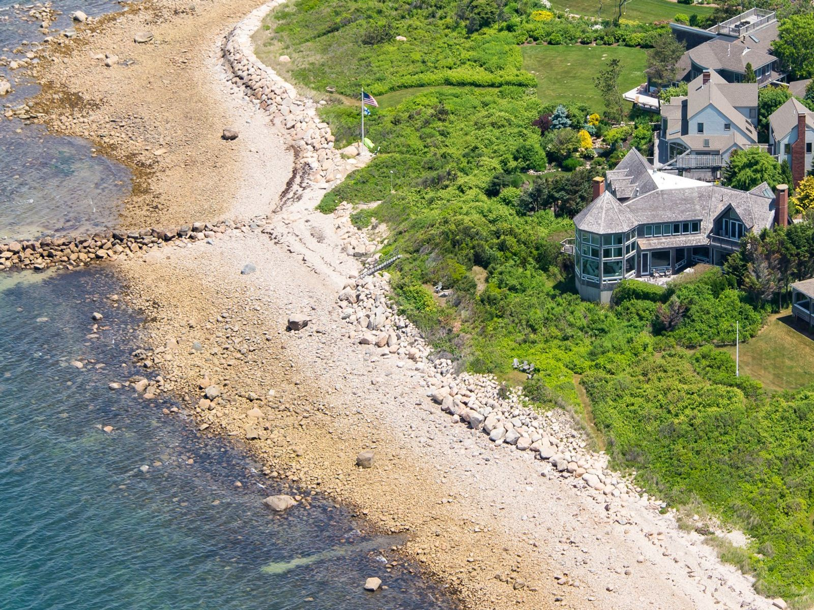 Contemporary Gunning Point Masterpiece, Falmouth MA Single Family Home - Cape Cod Real Estate