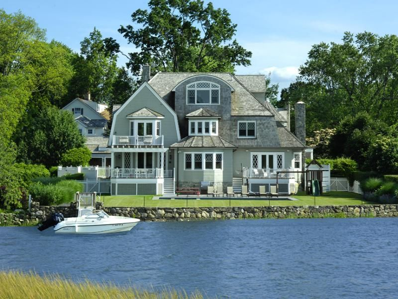 Nantucket Shingle Style Old Greenwich Ct Single Family
