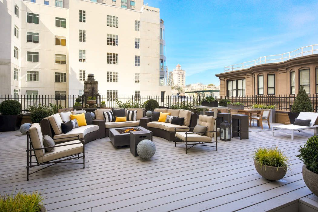 Rare Nob Hill Condo with Large Terrace