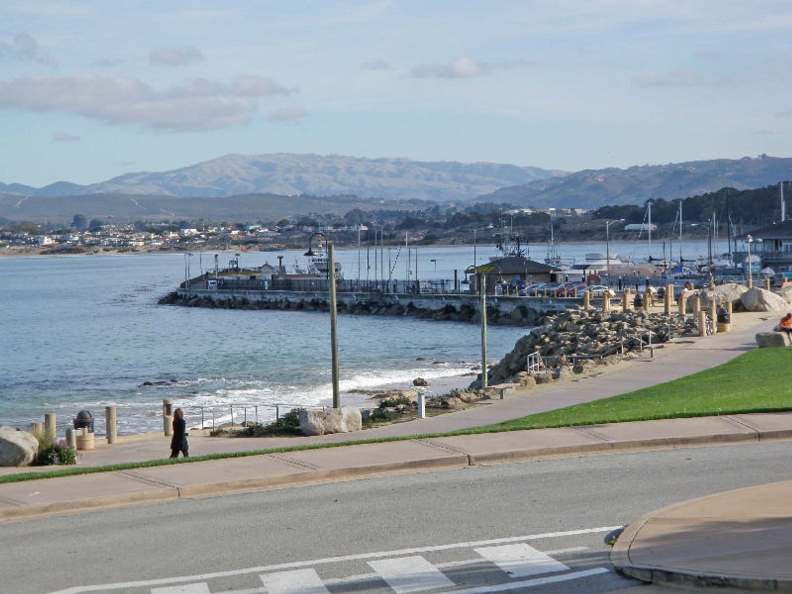 Historic Cannery Row Ocean View Lot