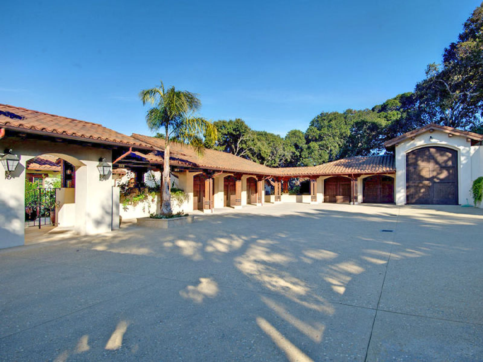 Spanish-California Hacienda
