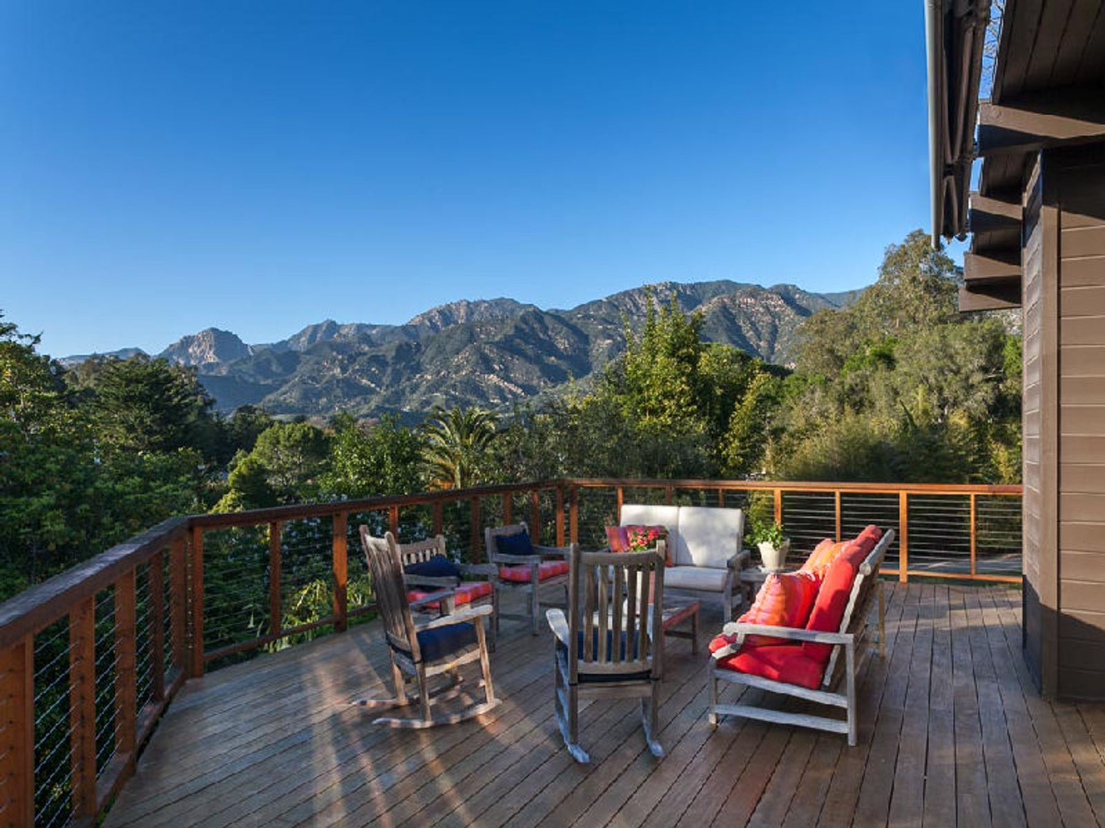 Deck and Gorgeous Mountain View
